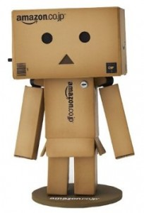 Amazon toy robot, by Revoltech.