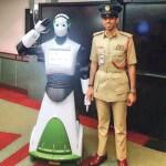 Dubai police robot.