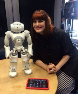 Stanley with Ana Matronic, from Scissor Sisters.