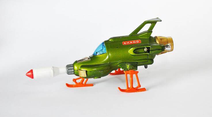 Dinky UFO Interceptor