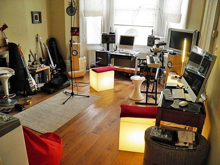 Chris' 'Robot Man' studio