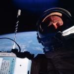 Aldrin's space selfie.