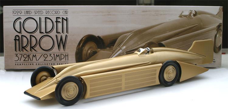 Golden Arrow car