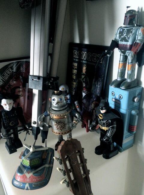 Billiken tinplate robots