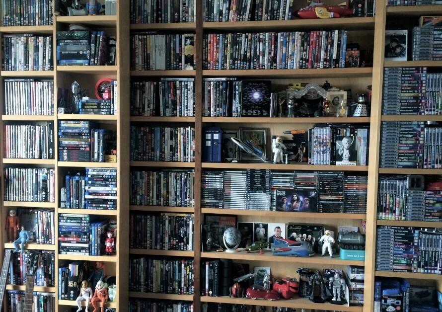 Some of the film collection