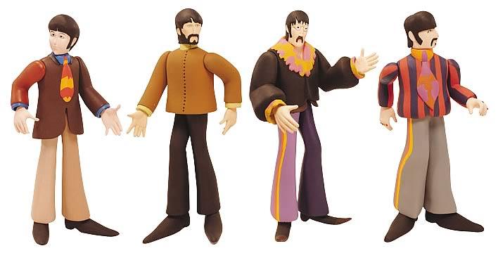 Beatles Yellow Submarine figures