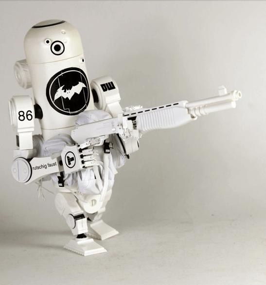 Ashley Wood robot