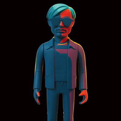 Medicom Andy Warhol figure