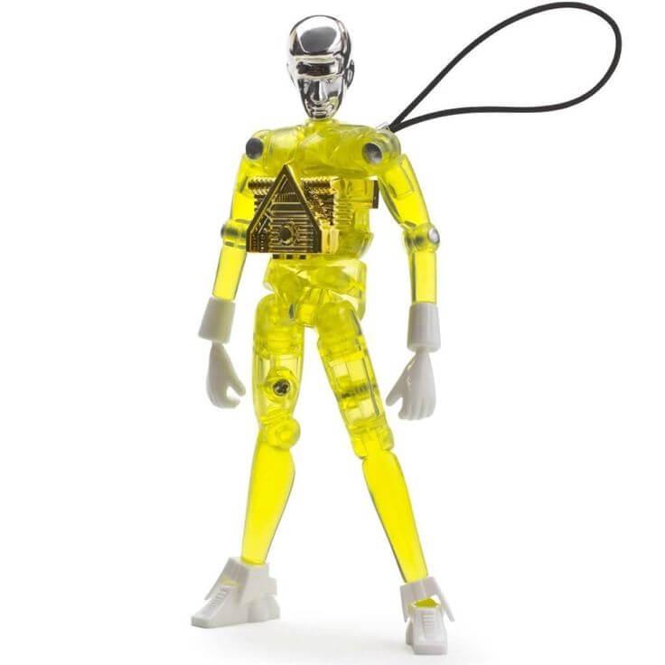 LED light strap robot